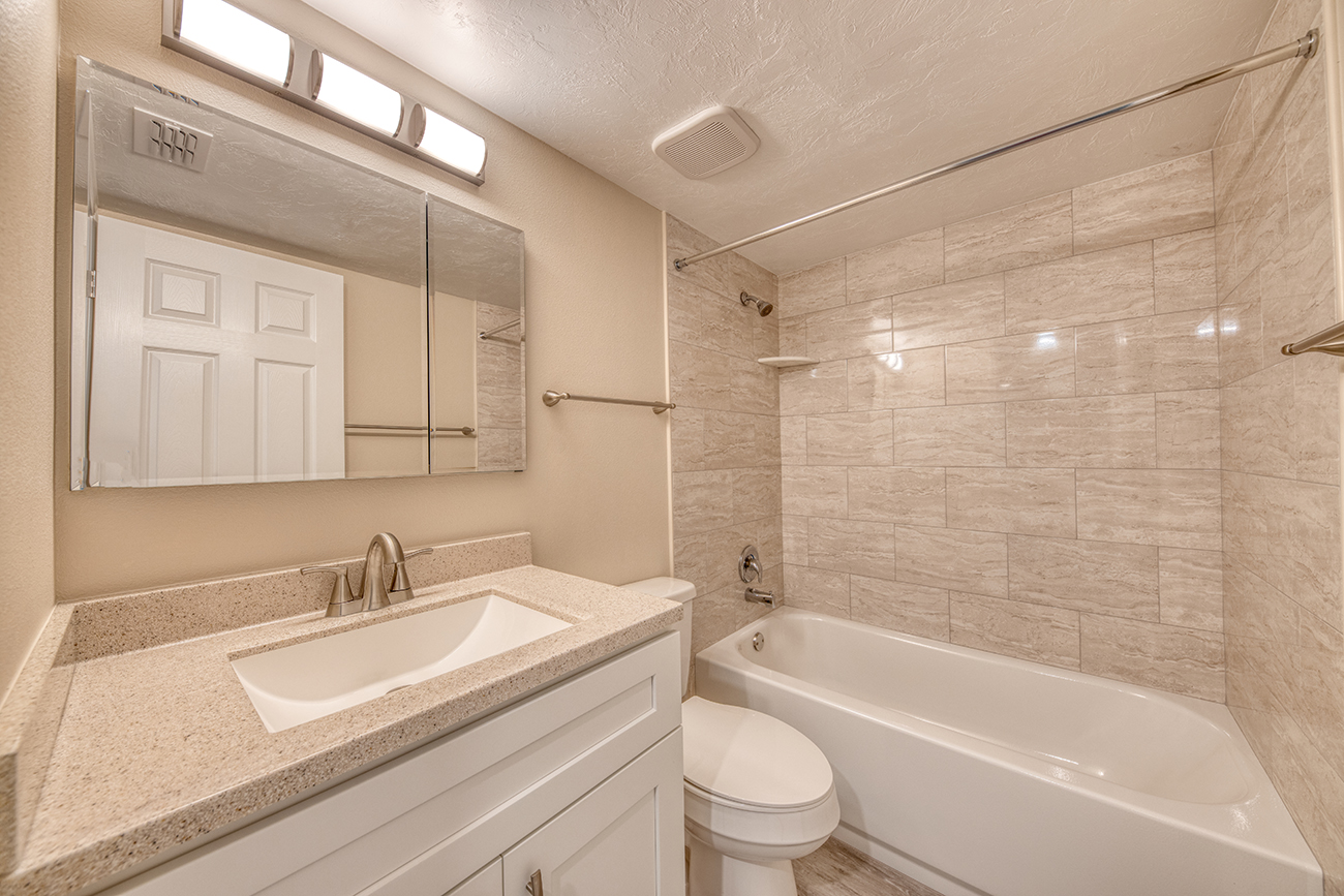 Fully upgraded baths in select homes