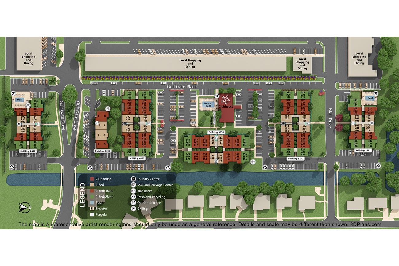 Explore Gulf Gate Apartments located in Sarasota FL!