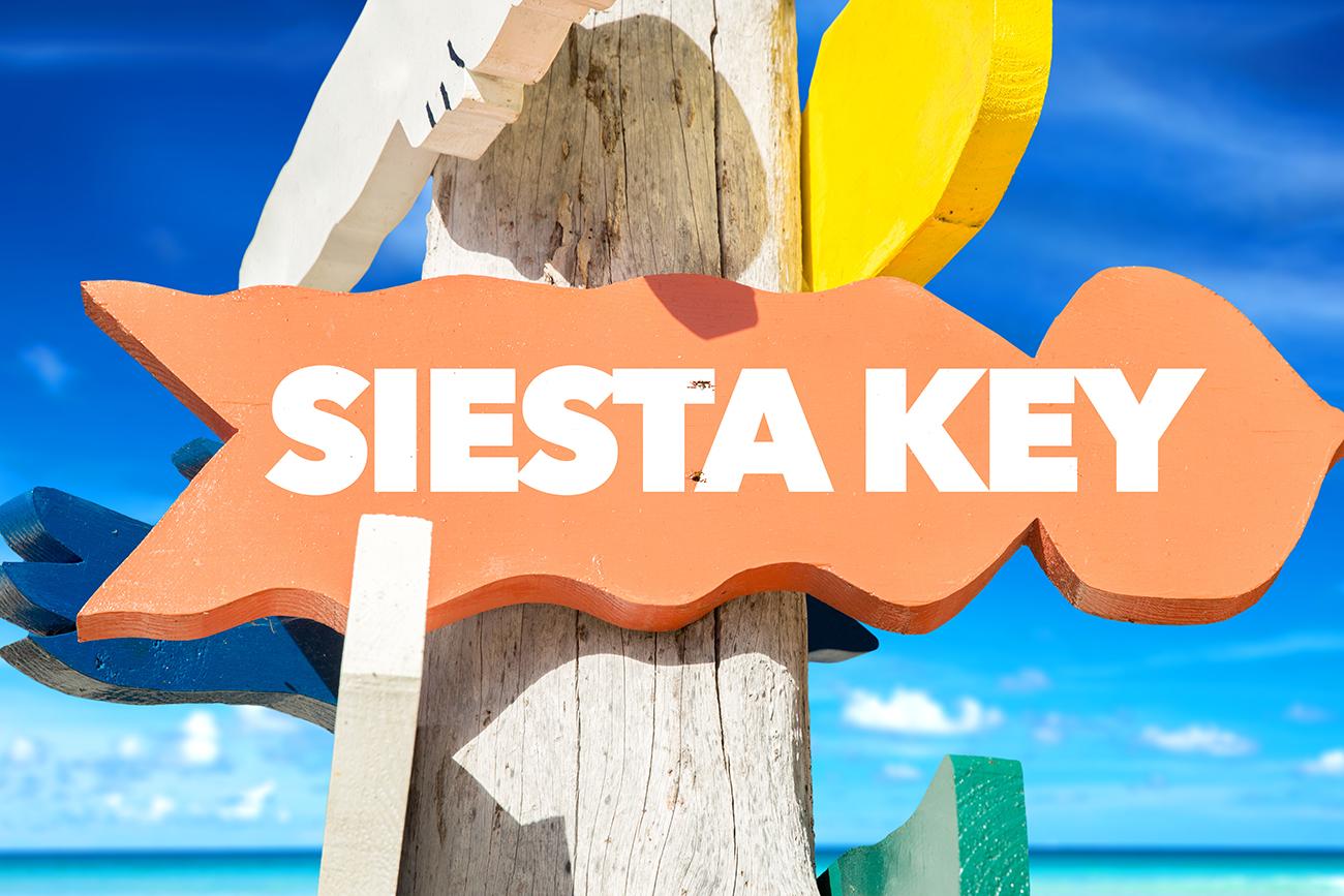 Less than 4 miles from Siesta Key Beach!